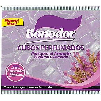 BONODOR Cubos Perfumados Ambientador para armarios aroma Lavanda Bolsa 100 g