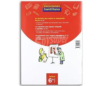 SANTILLANA Comprensión Lectora 6º 1 Unidad