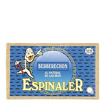 Conservas Espinaler Berberechos natural 63 g