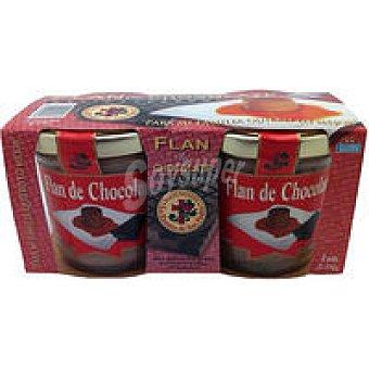 La Ermita Flan de chocolate Pack 2x110 g