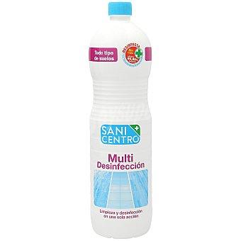 Sanicentro Fregasuelos multi desinfección Botella 1,5 l