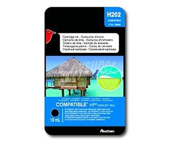 Auchan Cartucho Negro N°56 C6656A (H202) 56 C
