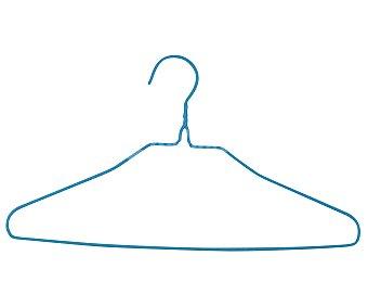 Productos Económicos Alcampo Percha triangular de metal, morado o azul alcampo