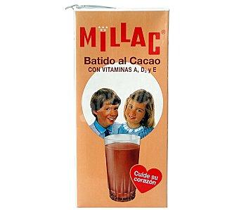 Millac Batido de cacao Brik de 1 L