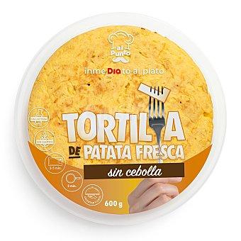 AL PUNTO Tortilla de patatas fresca sin cebolla Envase 600 gr