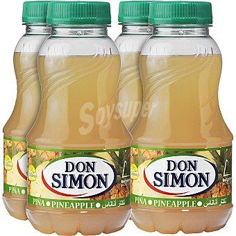 Don Simón Néctar de piña Pack 4 envase 200 ml