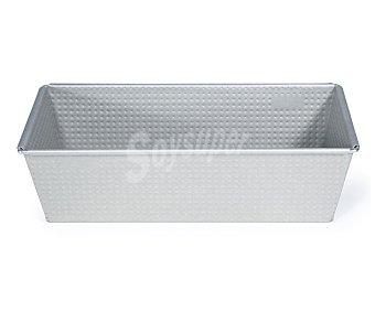 IMF Molde rectangular de 26x11x8 centímetros fabricado en acero para bizcochos, plum-cakes...imf 1 unidad