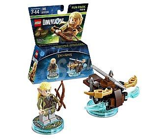 LEGO Pack de diversión Légolas, El Señor de los anillos, incluye 2 figuras interactivas Lego Dimensions 1 unidad
