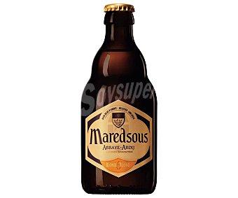 Maredsous blonde Cerveza tipo Abadía Belga Botella 33 cl