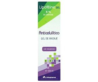 LIPOFEINE Gel de masaje anticelulítico sin parabenes 220ml