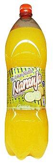 GIANICA Naranja con gas sin azucar Botella 2 l