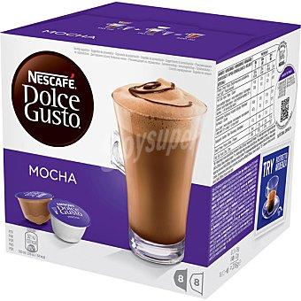 Nescafé dolce gusto Café moka ápsulas estuche 216 g 8 c