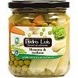 Menestra de verduras ecológicas Frasco 210 g neto escurrido Pedro Luis