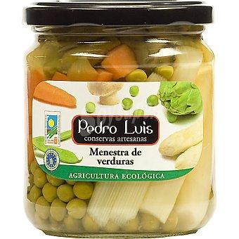 Pedro Luis Menestra de verduras ecológicas Frasco 210 g neto escurrido