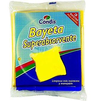 Condis Bayeta amarilla 3 UNI