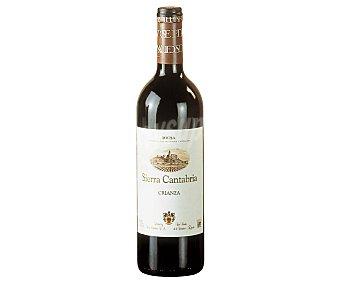 Sierra cantabria Vino tinto crianza con denominación de origen Rioja Botella de 75 cl
