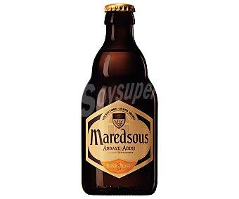 Maredsous blonde Cerveza tipo abadía belga Botella de 33 centilitros
