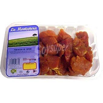 LA MONTAÑERA Pinchos morunos de jamón de cerdo Envase 500 g