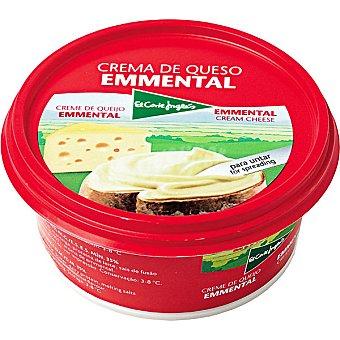 El Corte Inglés Crema de queso emmental Tarrina 125 g