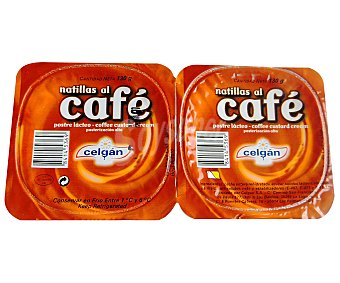 Celgan Postre café Pack de 2x130 g