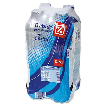 DIA Bebida refrescante natural Pack 4 botellas 1.5 lt
