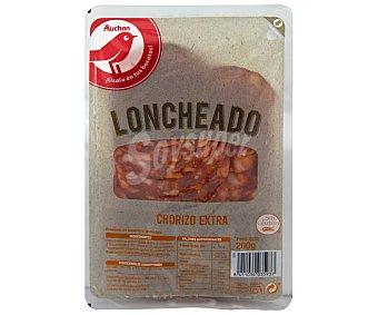 PRODUCTO ALCAMPO Chorizo de calidad extra, sin gluten y cortado en lonchas 200 g