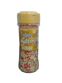 Hacendado Fideos colores Tarro 85 g