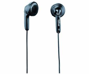 QILIVE 27E7200 Auriculares tipo Botón Negro, con cable