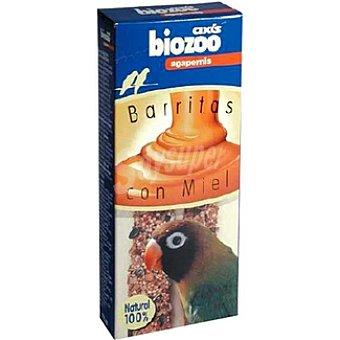 Biozoo Axis Barritas con miel para agapornis Envase 2 unidades