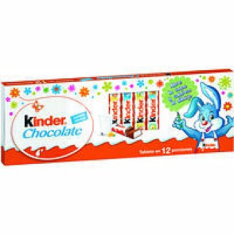 Kinder Kinder Chocolate Paquete 150 g