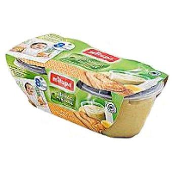Milupa las recetas de mama Tarrito de pollo-patatas Pack 2x200 g