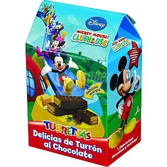 Antiu Xixona Delicias de turrón al chocolate Disney Turrettas Estuche 175 g