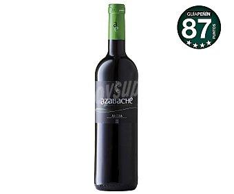 AZABACHE Vino tinto ecológico con denominación de origen la Rioja Botella de 75 centilitros