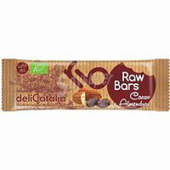Delicatalia Barrita raw de cacao-almendra 1 ud. 30 g