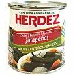 Jalapeños enteros Lata 200 g Herdez