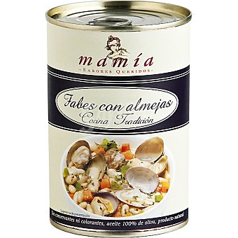 Mamía Fabes con almejas Lata 400 g
