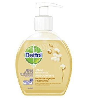 Dettol Jabon de Manos antibacteriano Pompa Nutritiva 250 ml