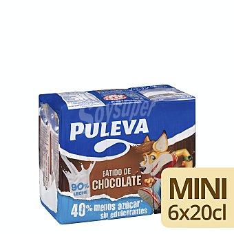 Puleva Batido al cacao Pack 6 unidades 200 ml