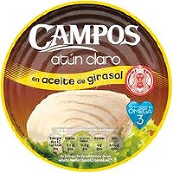 Campos Atún claro en aceite de girasol Lata 266 g