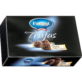 Farggi Trufas doble chocolate 12 unidades estuche 144 g 12 unidades