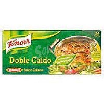 Knorr Caldo de carne 24 pastillas
