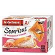 Sonrisas de mozzarella y jamón Estuche 266 g (4 u) La Cocinera
