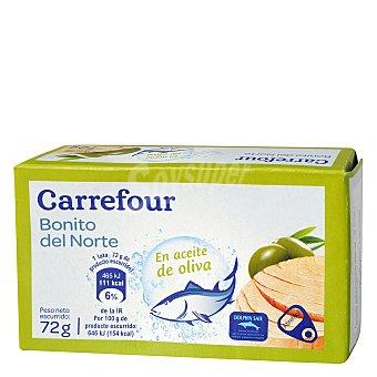 Carrefour Bonito del Norte en aceite de oliva 72 g