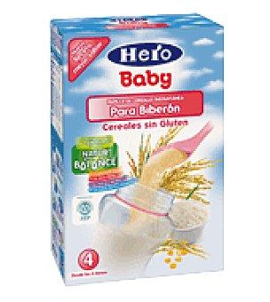 Hero Baby Papilla cereales biberón sin gluten natur balance 800 g