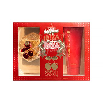 Pachá Ibiza Lote mujer sexy eau toilette vaporizador (80 ml), body lotion (75 ml) 1 unidad