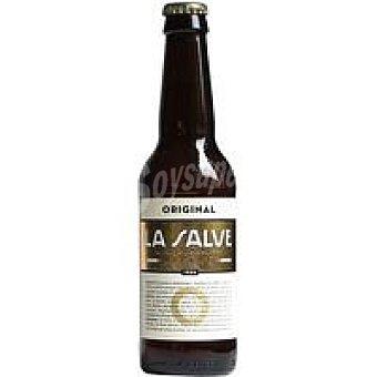 LA SALVE Cerveza Botellín 33 cl