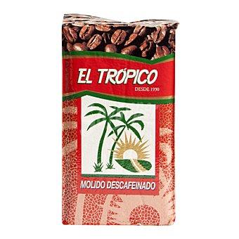 La Isleña Café molido el tropico descafeinado natural 250 g