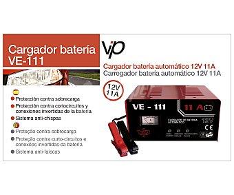VIP Cargador de baterias de 12V con capacidad de carga de 40 a 110 Amperios hora y recomendado tanto para motocicletas, coches y pequeños camiones 1 unidad
