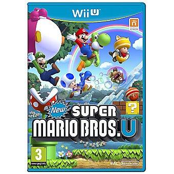 WII U Videojuego New Super Mario Bros  1 Unidad