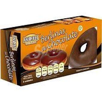 ASERCELI Berlinas de chocolate sin gluten Caja 160 g